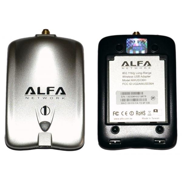 Alfa Networks Awus036h Usb 500mw Alfa Network Awus036h
