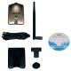 ALFA NETWORK AWUS051NH CARTE USB WIFI A/B/G/N 500MW - ANTENNE 5DBI